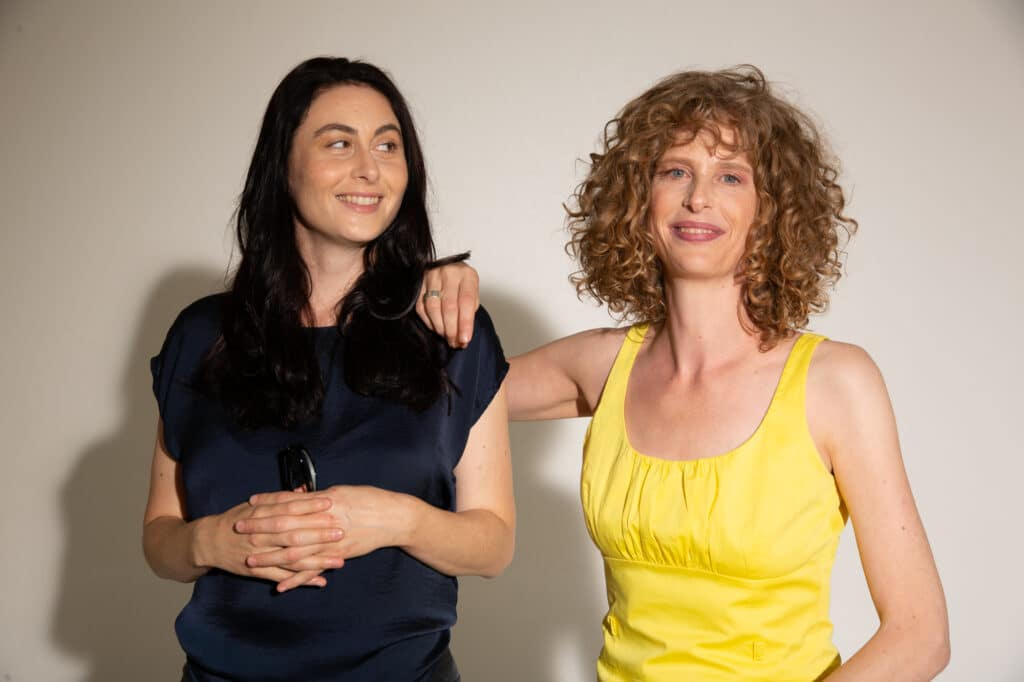 Sandra Staub und Miriam Betancourt